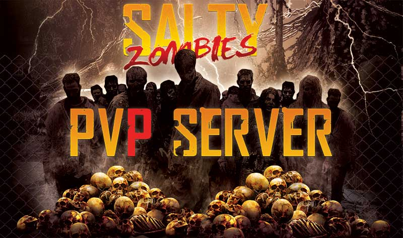 7 Days To Die Pvp Server Salty Zombies Is Ranked 1 Server Of All Time