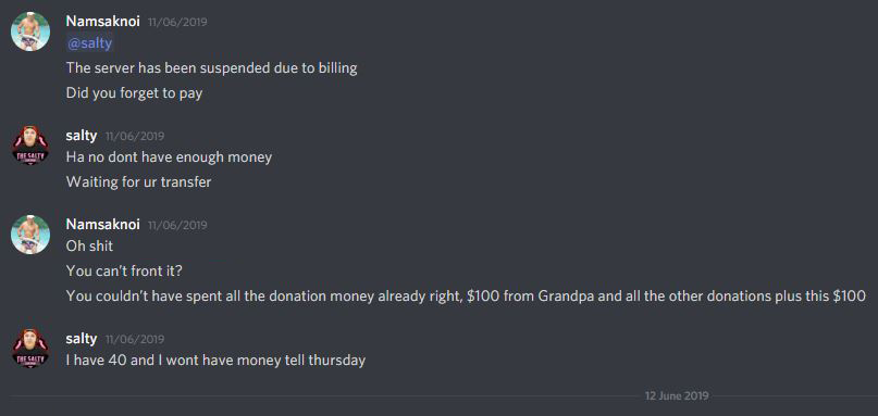 Starlord-Spend-Donation-Money