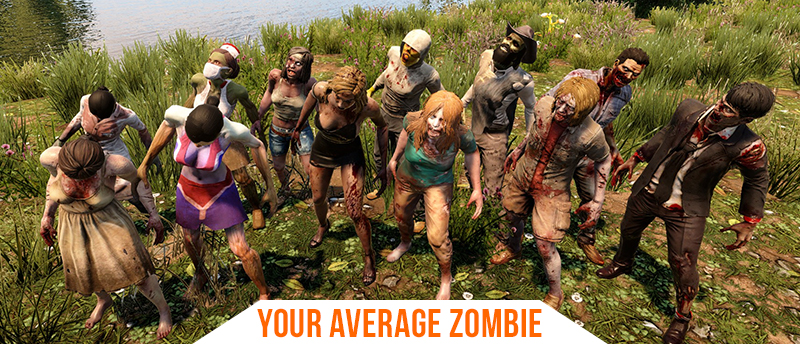 7 Days To Die Easy Zombies Types