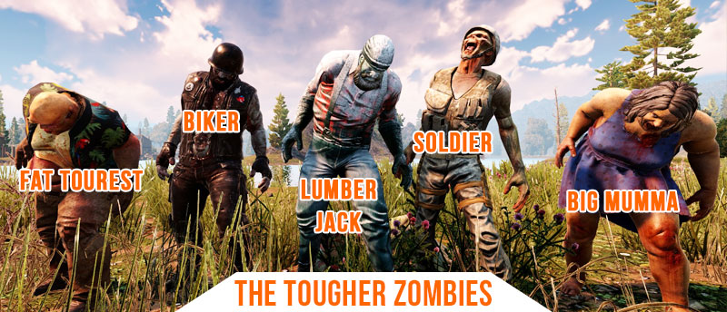 7 Days To Die Tougher Zombies